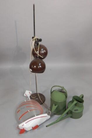 Three decorative Retro or vintage items