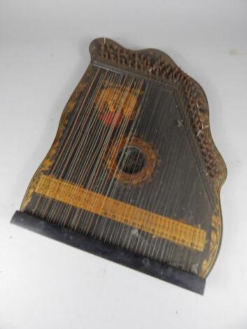 A German King Edward VII coronation harp