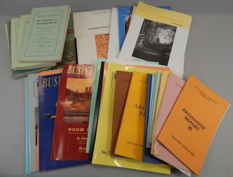 Various 20thC publications relating to Lincoln & Lincolnshire