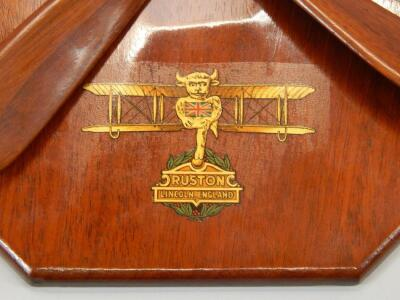 An early 20thC aviation related wall plaque - 2