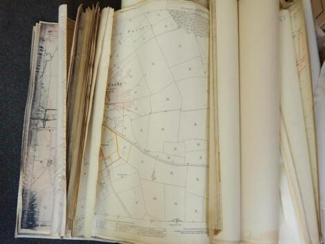 A large quantity of Lincolnshire related maps and plans