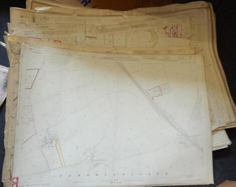 A large quantity of Lincolnshire maps