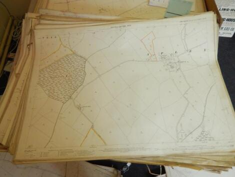 A large quantity of maps of Lincolnshire