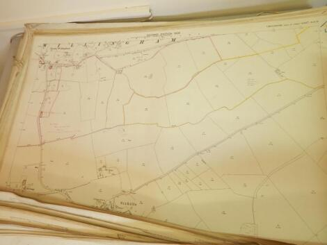 A large quantity of maps
