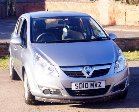 Vauxhall Corsa Exclusiv Auto 5 door hatchback