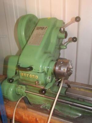 A Myford Super 7 metal turning lathe - 2
