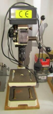 An Axminster Pillar drill.