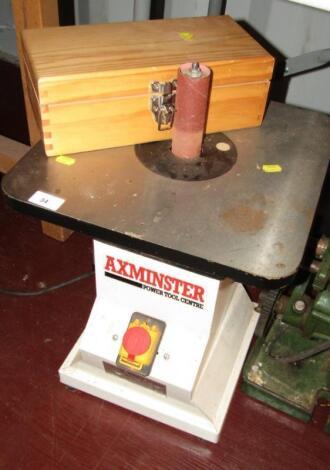 An Axminster Vertical spindle sander