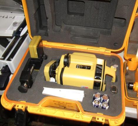 A Datum AL-30 Automatic laser level and tripod