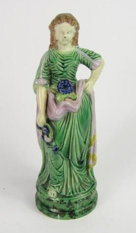 An early 19thC pearlware figure