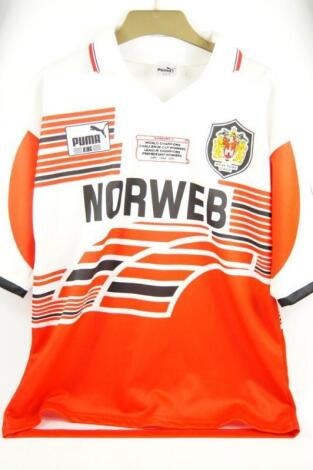 A Wigan Rugby League signed shirt 1994