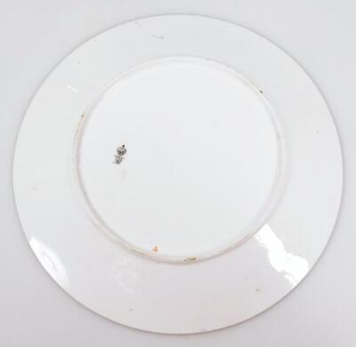 A late 19thC Crown Derby porcelain cabinet plate - 2
