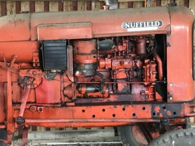 A Nuffield vintage tractor. - 2