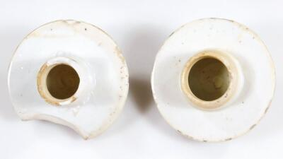 A pair of 19thC Chinese baluster vases and covers - 8