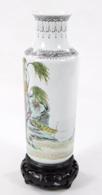A Chinese Republic porcelain vase - 19