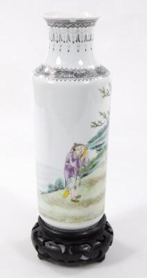 A Chinese Republic porcelain vase - 20