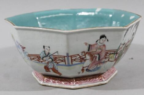 A Chinese porcelain Tongzhi period bowl