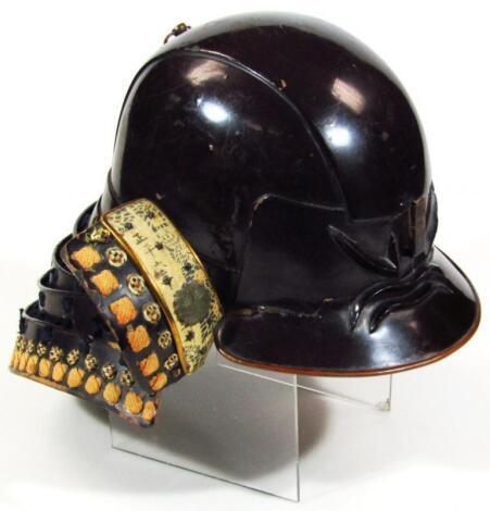 A Japanese Samurai Kabuto helmet