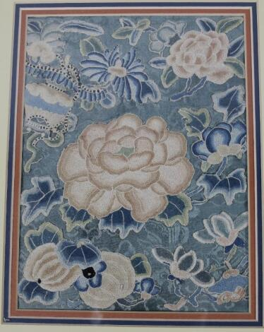 A Qing period Chinese embroidery
