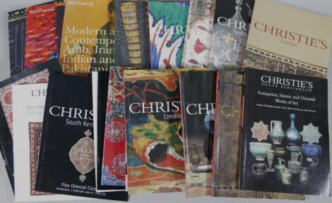 Various Christie's saleroom catalogues