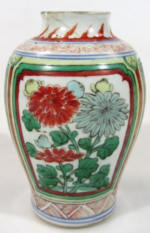 A Kangxi style Chinese porcelain vase