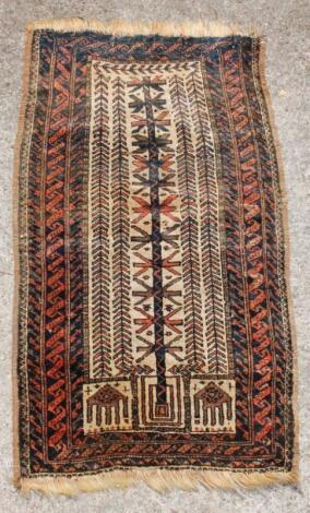 A 20thC Middle Eastern rug