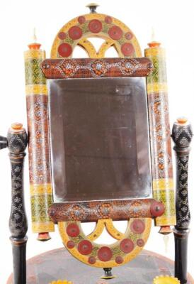 An early 20thC Persian table mirror - 3