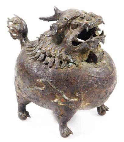 A Chinese Archaistic Archaic bronze type vessel