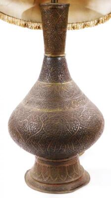 A Middle Eastern metal vase - 2