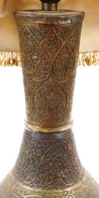 A Middle Eastern metal vase - 5