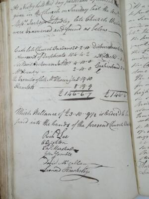 Gainsborough.- ACCOUNT BOOKS FOR THE PARISH OF LAUGHTON OVERSEERS OF THE POOR 2 ms books containing - 2