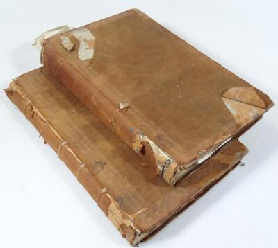 Gainsborough.- ACCOUNT BOOKS FOR THE PARISH OF LAUGHTON OVERSEERS OF THE POOR 2 ms books containing - 3
