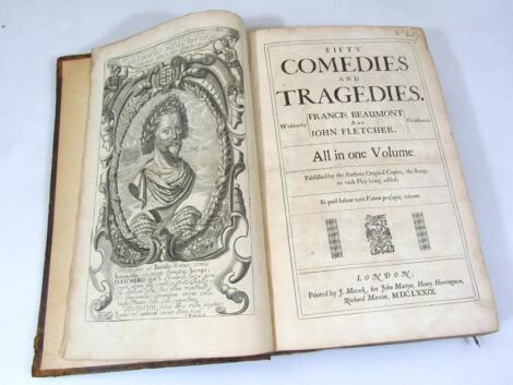 Beaumont (Francis) and John Fletcher Fifty Comedies and Tragedies second collected edition