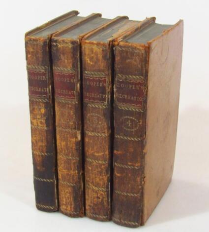 Hooper (William) Rational Recreations 4 vol.