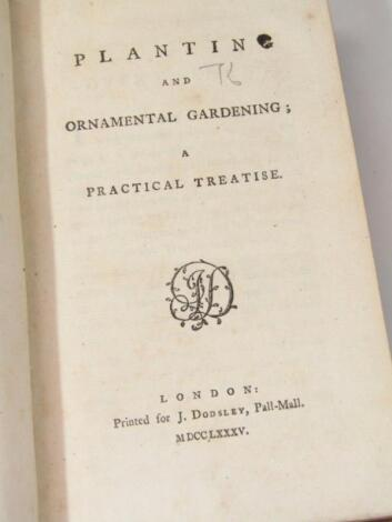 [Marshall (William)] Planting and Ornamental Gardening; A Practical Treatise