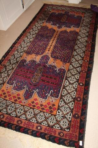 A Tekkeh design rug