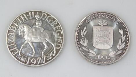 A Silver Jubilee 1977 crown