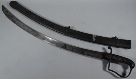 A 19thC cavalry sword
