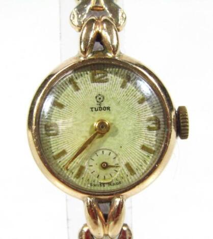 A 20thC ladies Rolex Tudor cocktail watch