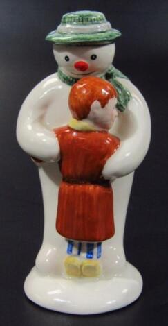 A Royal Doulton Snowman Gift Collection figure