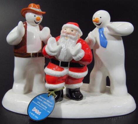 A Coalport Classics Father Christmas figure