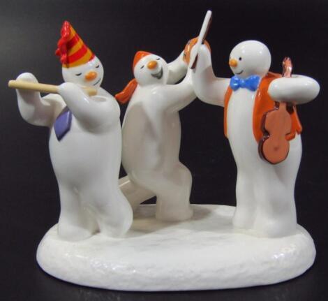 A Coalport Classics The Snowman figure