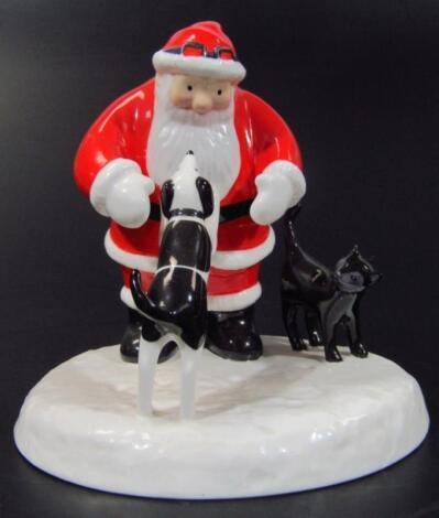 A Coalport Characters Father Christmas figure
