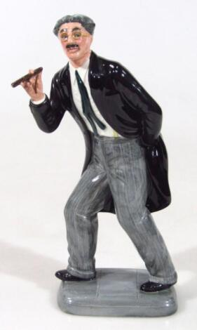 A Royal Doulton limited edition figure Groucho Marx