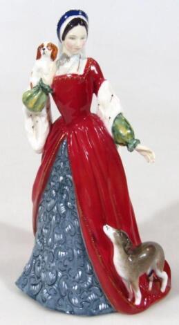 A Royal Doulton figure Anne Boleyn