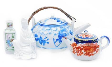 Various oriental porcelain