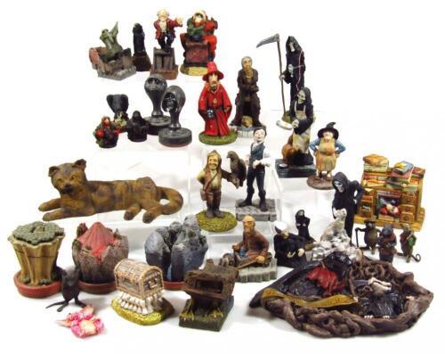 Various Clarecraft Discworld figures