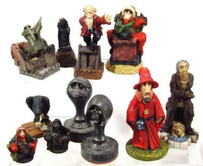 Various Clarecraft Discworld figures - 2