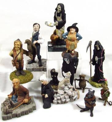 Various Clarecraft Discworld figures - 4