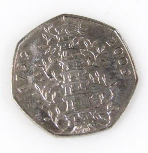 A Kew Gardens 50p coin
